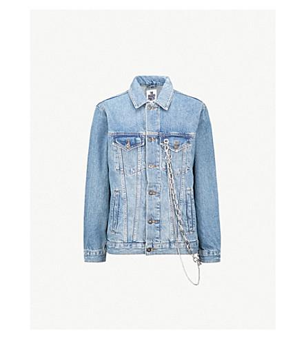 THE RAGGED PRIEST Hardcore denim jacket (Blue