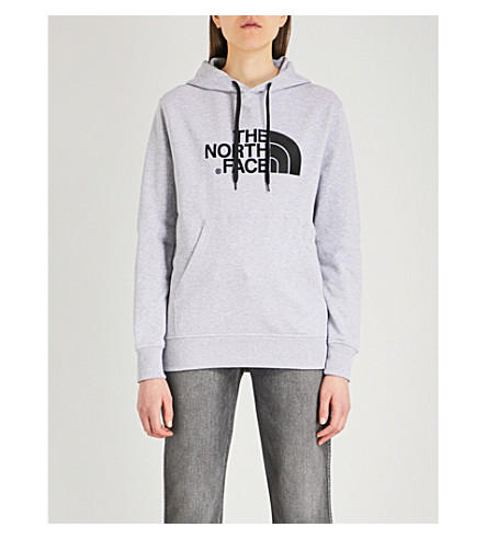THE NORTH FACE Light Drew Peak cotton-jersey hoody (Tnf+light+grey+heather
