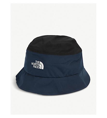 THE NORTH FACE Logo-detail GORE-TEX bucket hat (Tnf+black/urban+navy