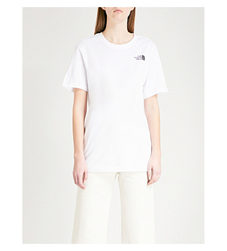 NORTH FACE Celebration cotton-jersey T-shirt (Tnf+white