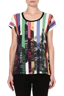 PAUL BY PAUL SMITH Landscape print t-shirt