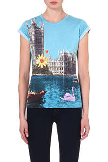 PAUL BY PAUL SMITH London scene jersey t-shirt