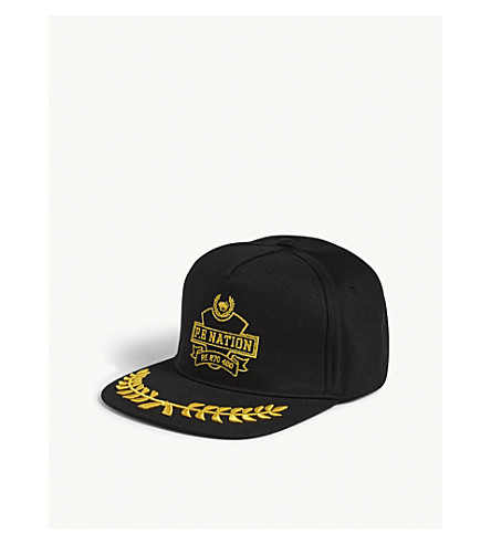 P.E NATION Wild Pitch snapback cap (Black
