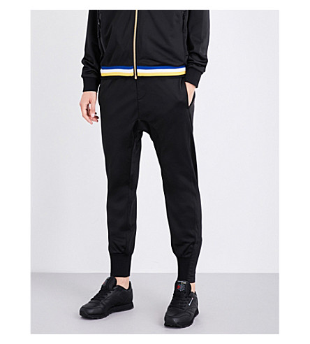 P.E NATION Strike Out jersey jogging bottoms (Black