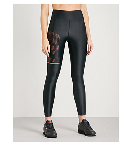 P.E NATION The Countdown stretch leggings (Black