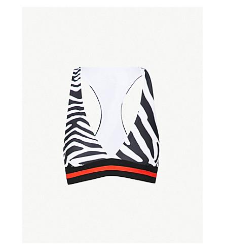 P.E NATION狂热舒展-球衣运动胸罩 (印刷品