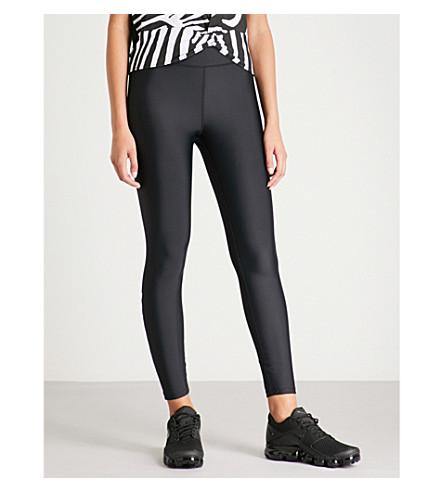 P.E NATION Offside stretch-jersey leggings (Black