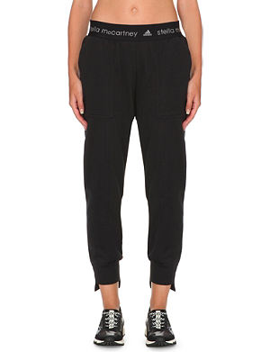 ADIDAS BY STELLA MCCARTNEY Slim-fit jersey jogging bottoms