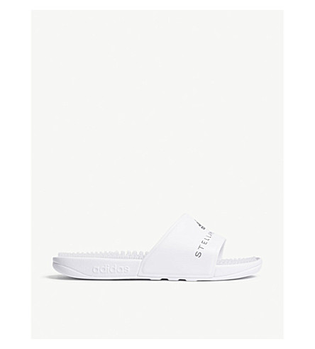 ADIDAS BY STELLA MCCARTNEY adissage slides (White