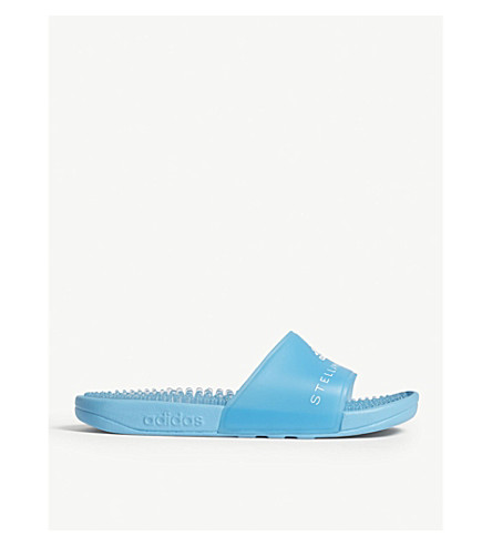 ADIDAS BY STELLA MCCARTNEY Adissage sliders (Mirror+blue+ftwr+w