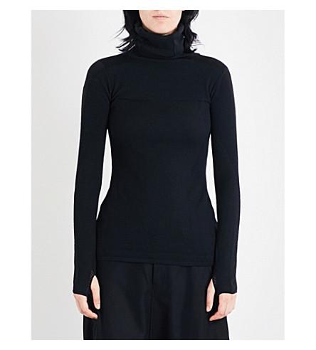 Y3 Turtleneck knitted jumper (Black