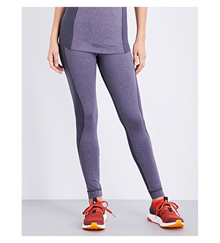 ADIDAS BY STELLA MCCARTNEY Yoga Ultimate Comfort stretch-jersey leggings (Night+steel