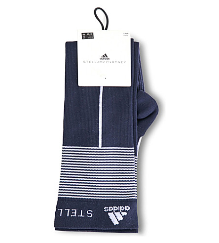 ADIDAS BY STELLA MCCARTNEY Knee-high compression socks (Legend+blue