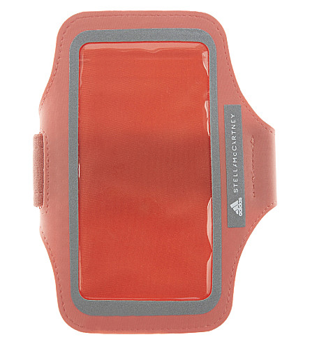 ADIDAS BY STELLA MCCARTNEY Media running arm pouch (Desert+rose