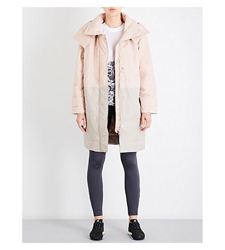 ADIDAS BY STELLA MCCARTNEY Essential padded coat (Pearl+rose/shell+beige
