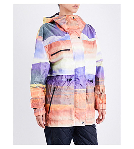 ADIDAS BY STELLA MCCARTNEY Essentials Winter Performance shell jacket (Multicolor/legend+blue