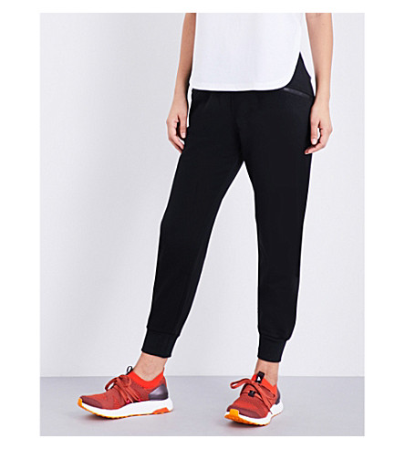 ADIDAS BY STELLA MCCARTNEY Essential jersey jogging bottoms (Black