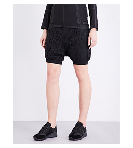 Y-3 SPORT Boxing sarouel shell shorts (Black