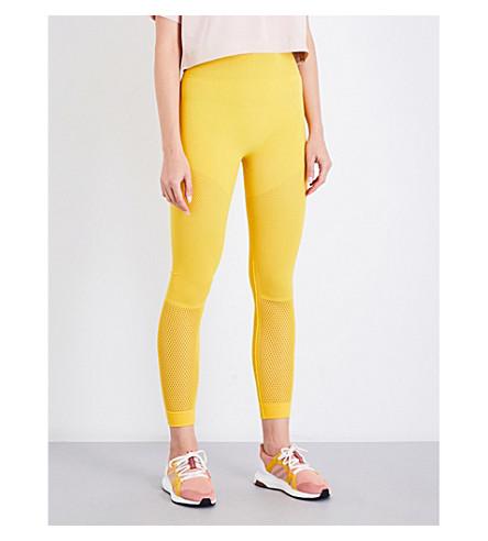 ADIDAS BY STELLA MCCARTNEY Training High Intensity warpknit leggings (Super+yellow