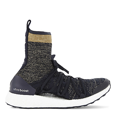 ADIDAS BY STELLA MCCARTNEY Ultraboost X high-top trainers (Legend+blue