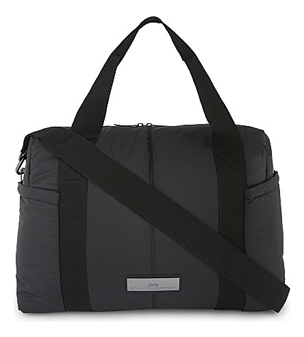 ADIDAS BY STELLA MCCARTNEY Shipshape quilted gym bag (Core+black