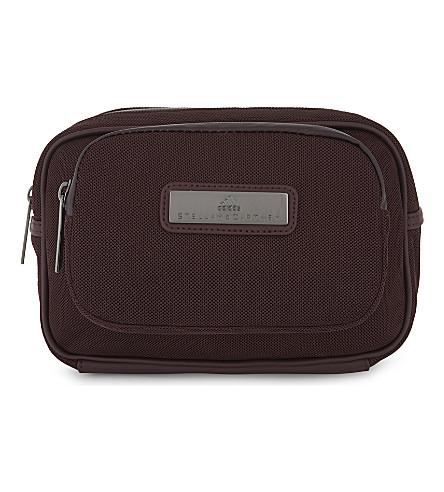 ADIDAS BY STELLA MCCARTNEY Wash kit bag (Dark+burgundy