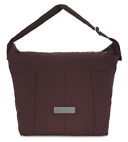 ADIDAS BY STELLA MCCARTNEY Medium gym bag (Dark+burgundy