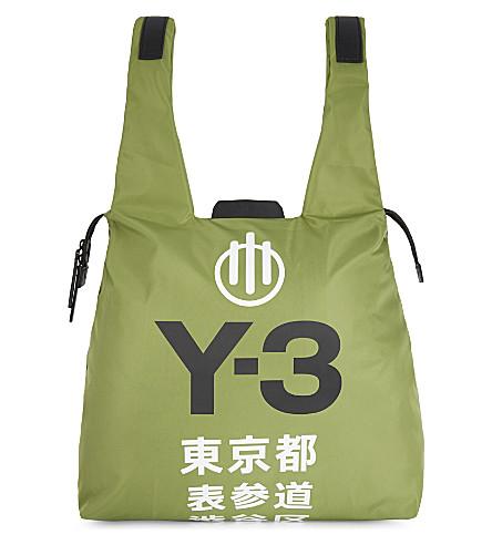 Y3 Omotesando shoulder bag (Green
