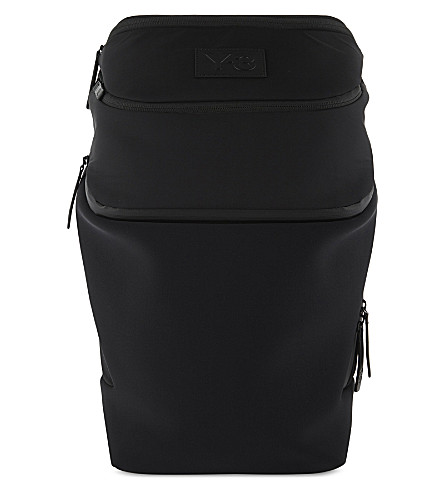 Y3 Icon nylon backpack (Black