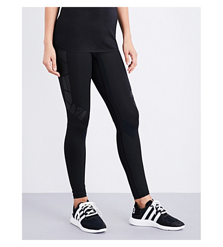 Y3 Lite Tight stretch-jersey leggings (Black