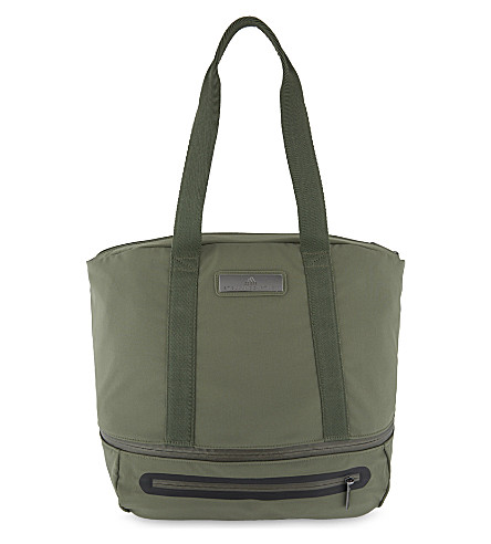 ADIDAS BY STELLA MCCARTNEY Iconic sports bag (Base+green