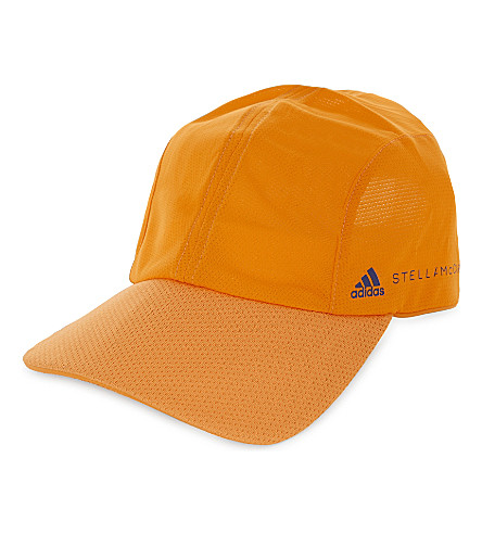 ADIDAS BY STELLA MCCARTNEY Run mesh cap (Lucky+orange