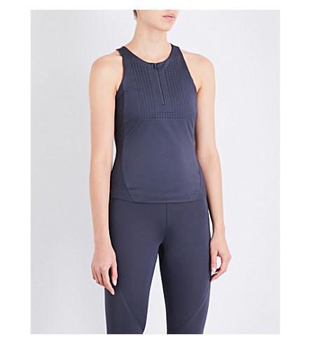 ADIDAS BY STELLA MCCARTNEY Run stretch-jersey top (Night+steel