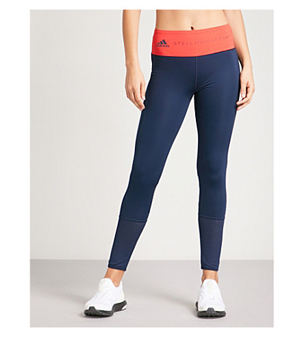 ADIDAS BY STELLA MCCARTNEY Training Ultimate stretch-jersey leggings (Colleg+nvy+dk+callisto