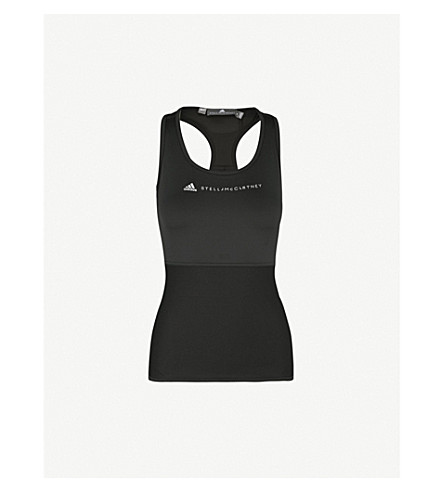 ADIDAS BY STELLA MCCARTNEY Performance Essentials jersey top (Black