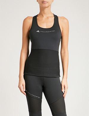 ADIDAS BY STELLA MCCARTNEY - Run stretch-jersey top   Selfridges.com 4d9828f8ae