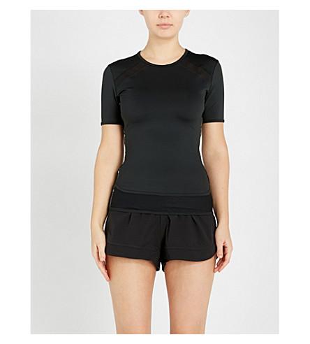 ADIDAS BY STELLA MCCARTNEY Performance Essentials jersey T-shirt (Black