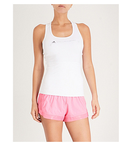 ADIDAS BY STELLA MCCARTNEY Run Adizero shell shorts (Solar+pink