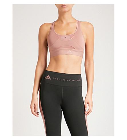 ADIDAS BY STELLA MCCARTNEY High Intensity sports bra (Burnt+rose