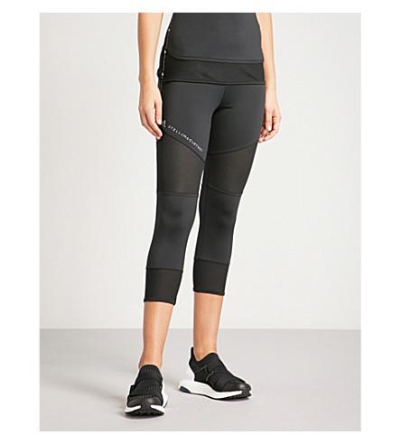 ADIDAS BY STELLA MCCARTNEY Performance Essentials cropped jersey leggings (Black
