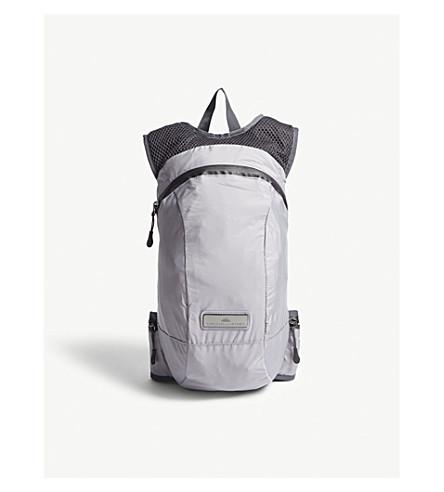 ADIDAS BY STELLA MCCARTNEY Adizero nylon running backpack (Pearl+grey+night+steel