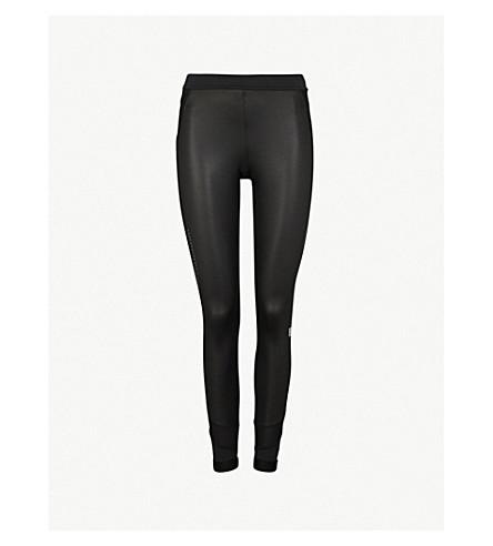 ADIDAS BY STELLA MCCARTNEY Run Long stretch-jersey leggings (Black