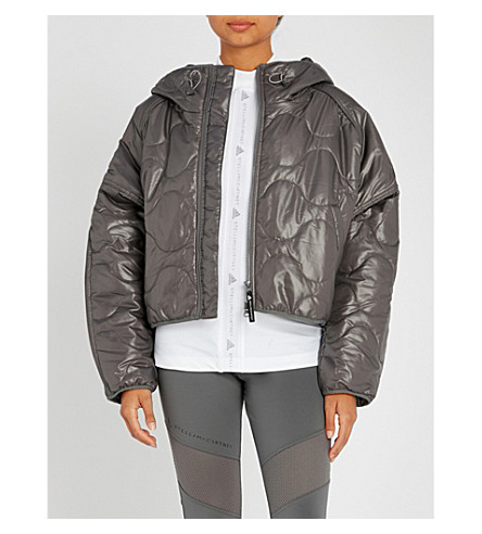 ADIDAS BY STELLA MCCARTNEY Quilted shell jacket (Granite