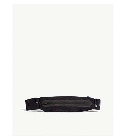 ADIDAS BY STELLA MCCARTNEY Nylon Run belt (Black+white+black