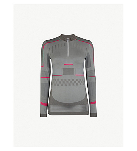 ADIDAS BY STELLA MCCARTNEY - Training seamless-knit top   Selfridges.com b55daabe7c