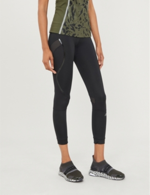 Essentials high-rise stretch-jersey leggings