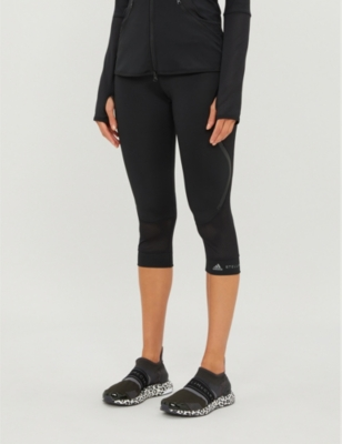 Performance Essentials cropped stretch-jersey leggings