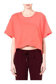 ADIDAS STELLA Cropped loose t-shirt