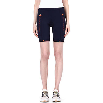 ADIDAS STELLA Perforated cycling shorts (Indigo
