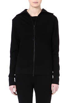 Y3 Funnel-neck zipped sweatshirt